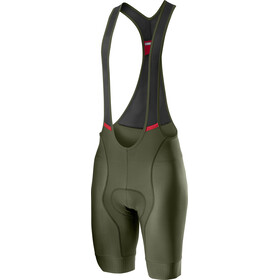 Castelli Competizione Bib Shorts Heren, military green